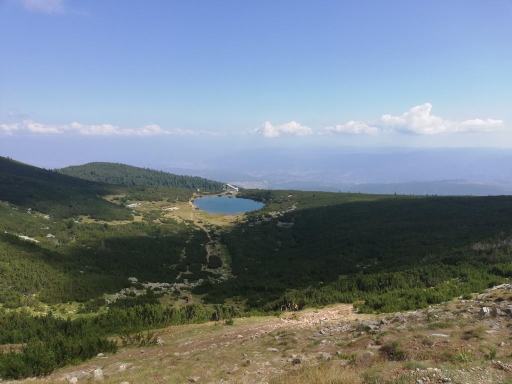 """панорама над хижа """"Безбог"""""""