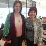 с колега от Австрия, г-жа Елфриде Реберник