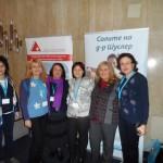 с прекрасните  колеги от България и Бургас